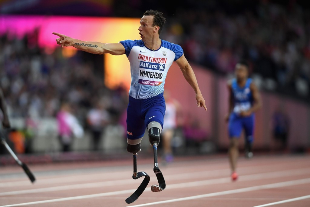 Great Britain's Richard Whitehead will lose his world record in the men's 200m T42 ©Getty Images