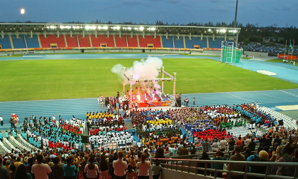 Queen sends message of support as 2017 Commonwealth Youth Games open with fun-filled Ceremony