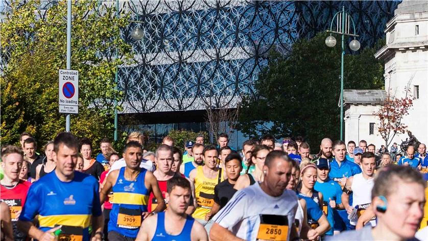 Brendan Foster's company organise the Great Birmingham Run ©Great Run Company