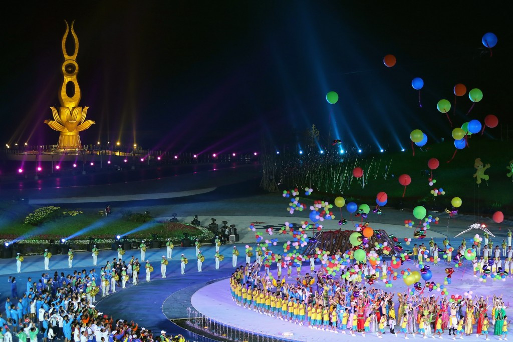 The recording related to a meeting supposedly held during the 2012 Asian Beach Games in Haiyang, China ©Getty Images