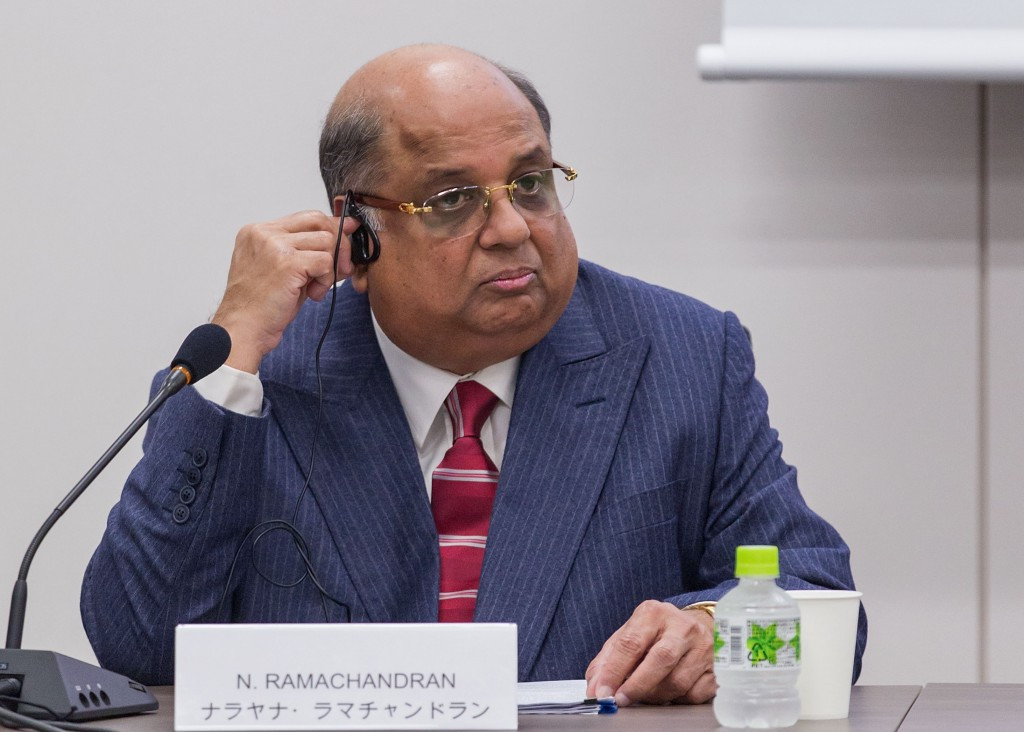 Indian Olympic Association President N Ramachandran has spoken positively about a possible bid ©Getty Images