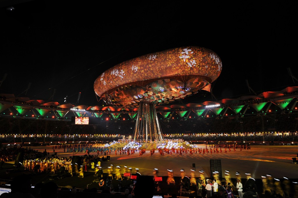 New Delhi played host to the 2010 edition of the Commonwealth Games ©Getty Images