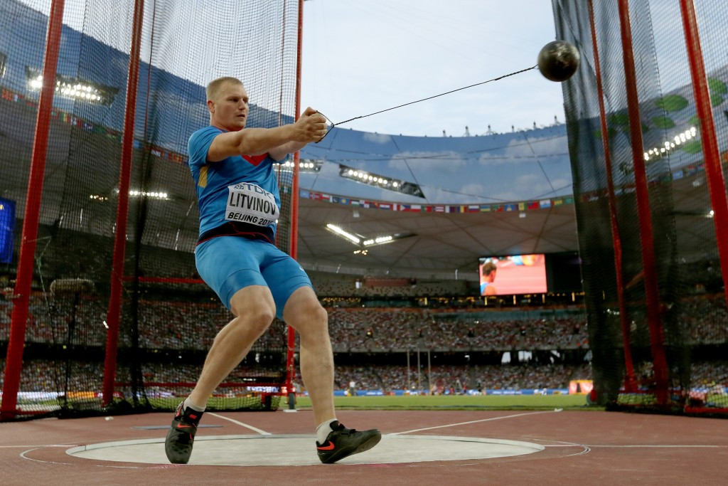 Hammer thrower Sergej Litvinov is one of eight Russian athletes to have been granted permission to compete neutrally by the IAAF ©Getty Images