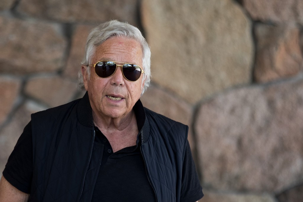 Billionaire businessman Robert Kraft has been named honorary chairman of the board for the joint 2026 FIFA World Cup bid from North America ©Getty Images
