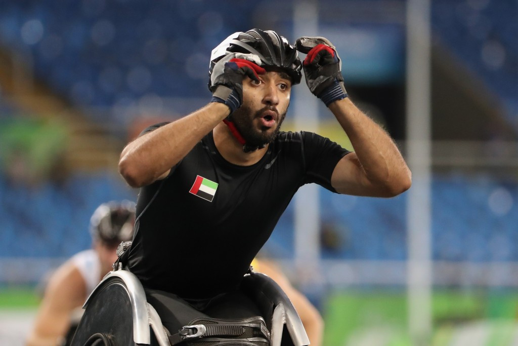 The United Arab Emirates' Mohamed Alhammadi has vowed to present all his medals from the 2017 World Para Athletics Championships to the children of team-mate Abdullah Hayayei, who tragically died last week while preparing for the event ©Getty Images