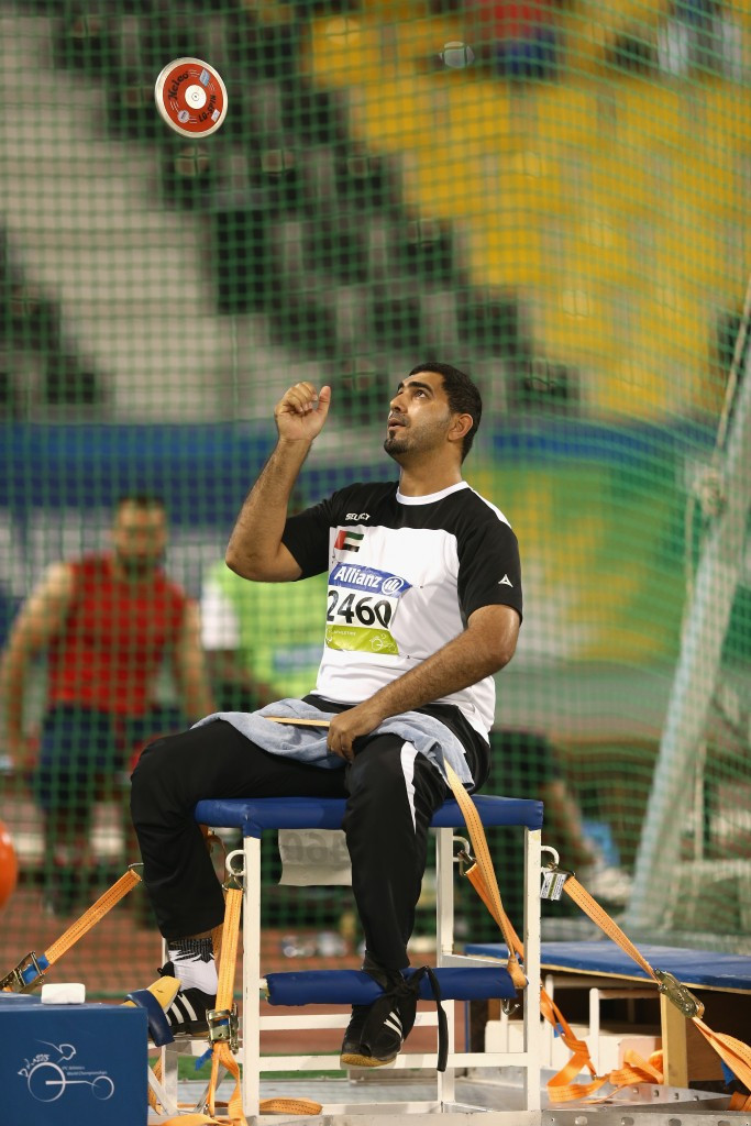 Abdullah Hayayei tragically died last week while preparing for the 2017 World Para Athletics Championships ©Getty Images