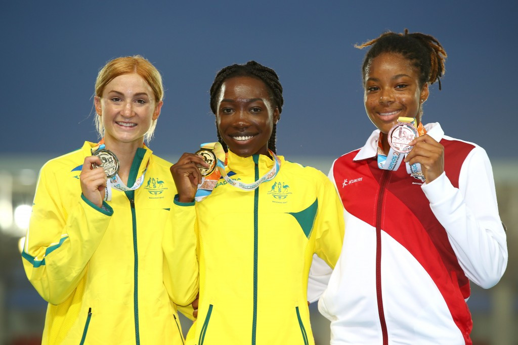 Oboya leads home Australian one-two in thrilling 400m race at Commonwealth Youth Games