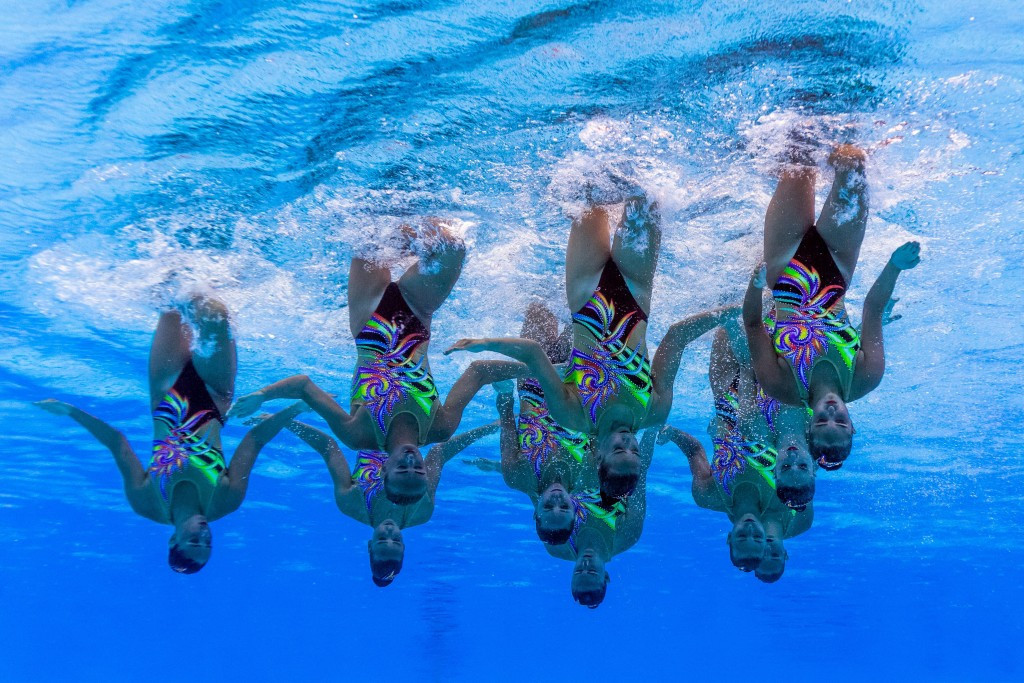 """A name change from synchronised to """"artistic"""" swimming was passed here today ©Getty Images"""