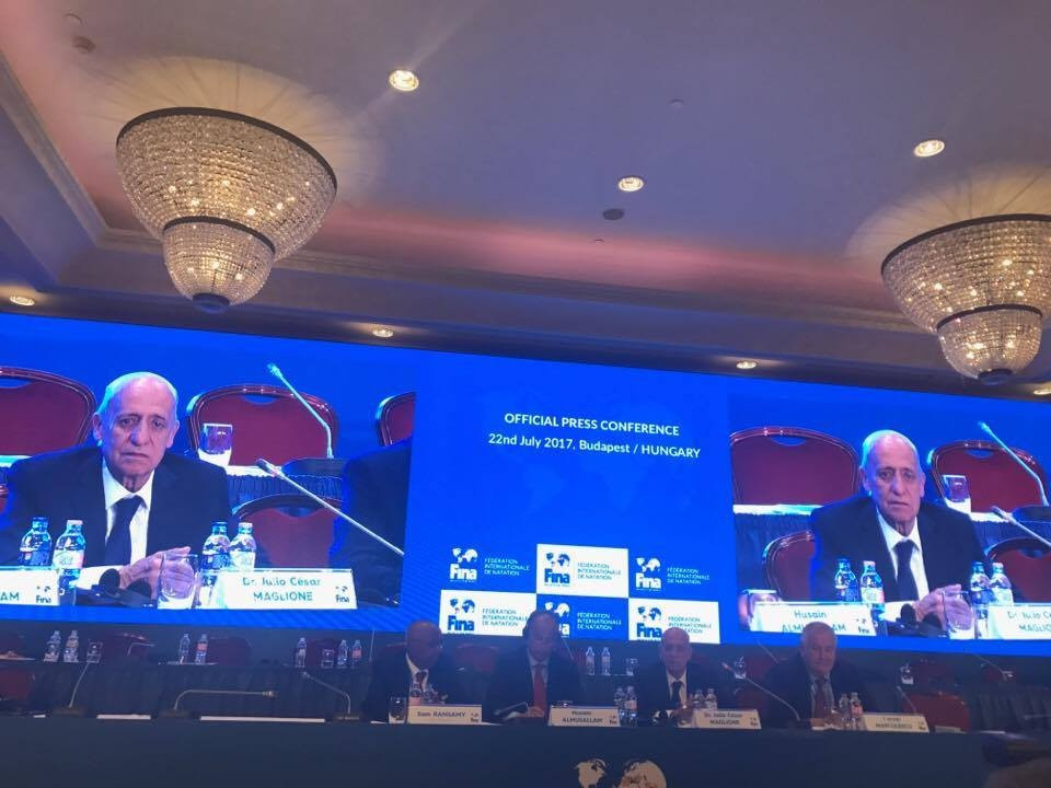 Maglione re-elected President of International Swimming Federation