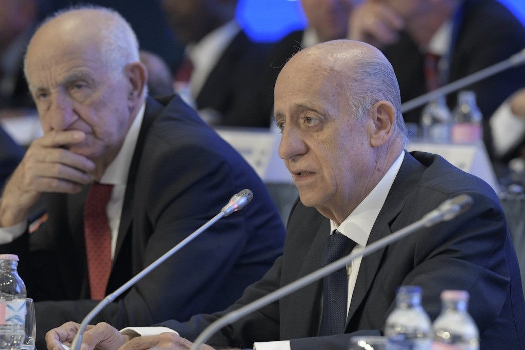 Maglione defends lack of age limits and promises to serve full four-year term as FINA President