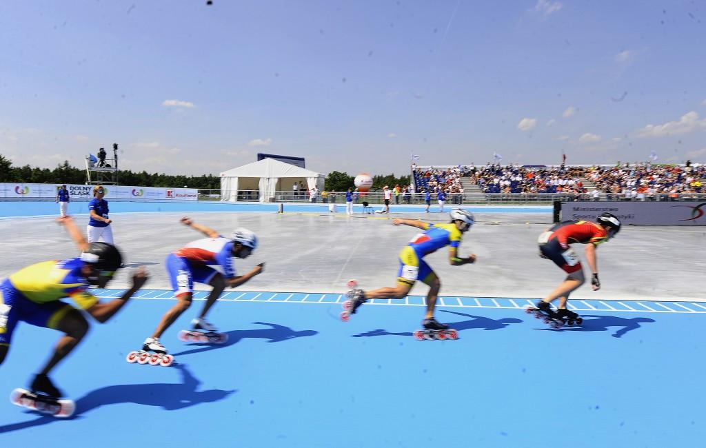 Grzegorz Pyzałka claimed interest in the roller skating venue is already high ©IWGA