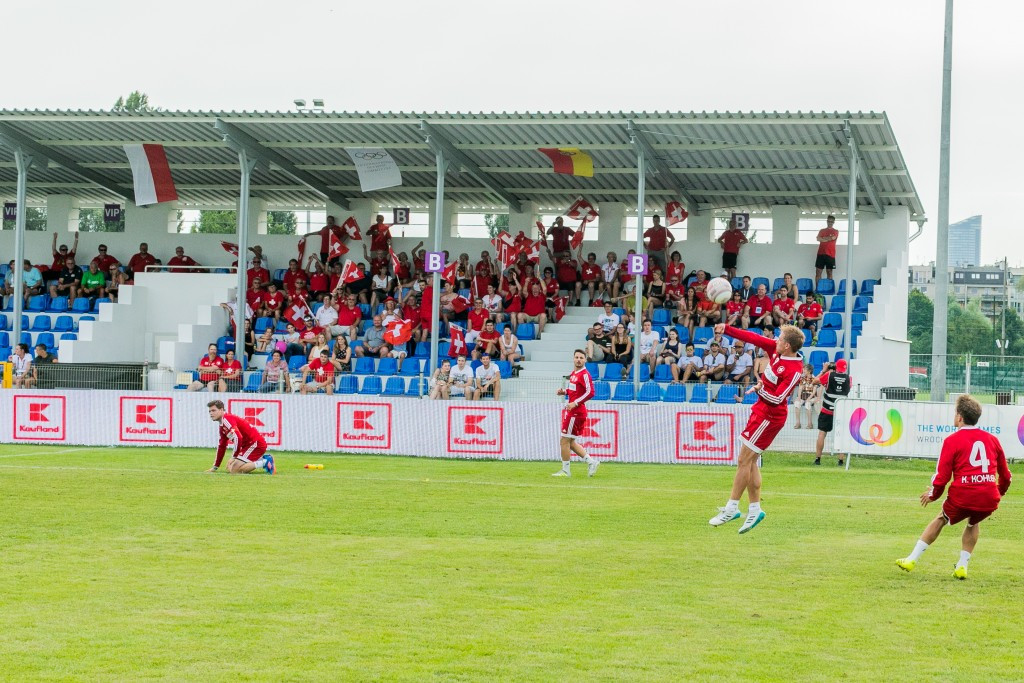 Olawka Stadium, home to fistball, is claimed to be used by