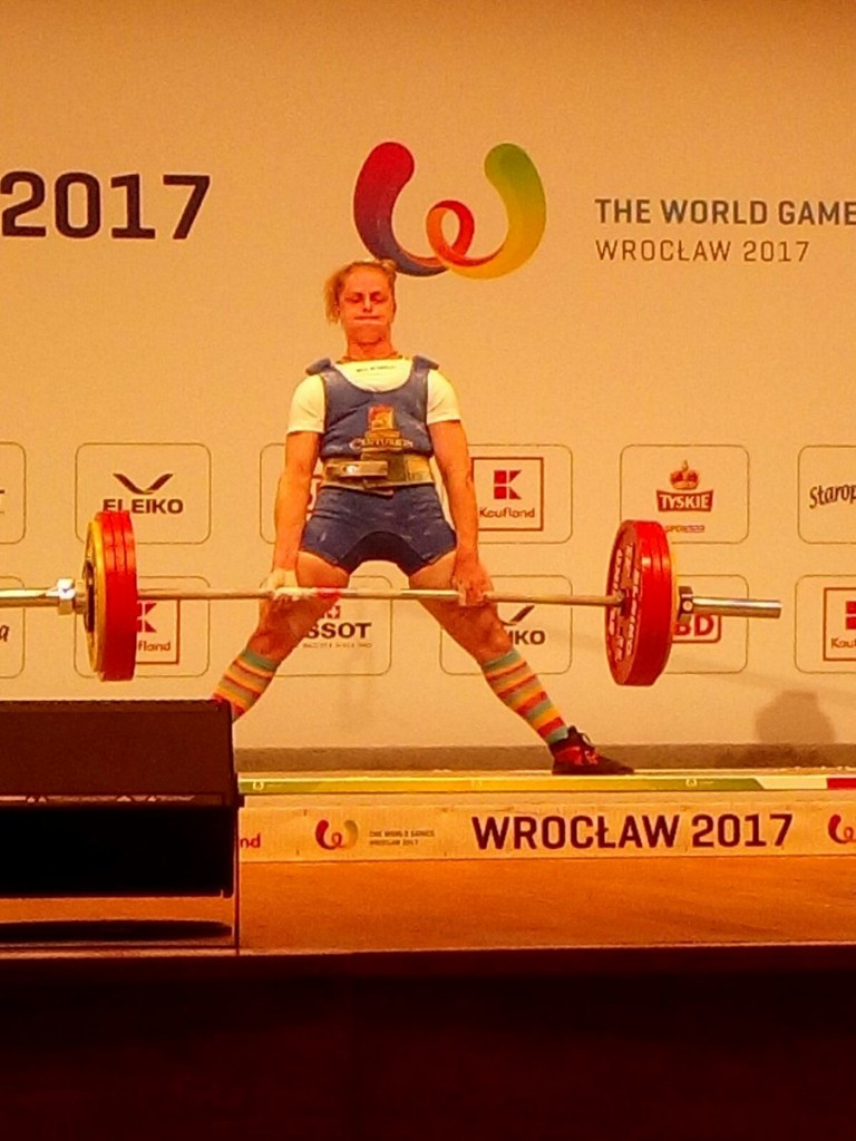 Soloviova extends World Games powerlifting dominance with fourth consecutive gold