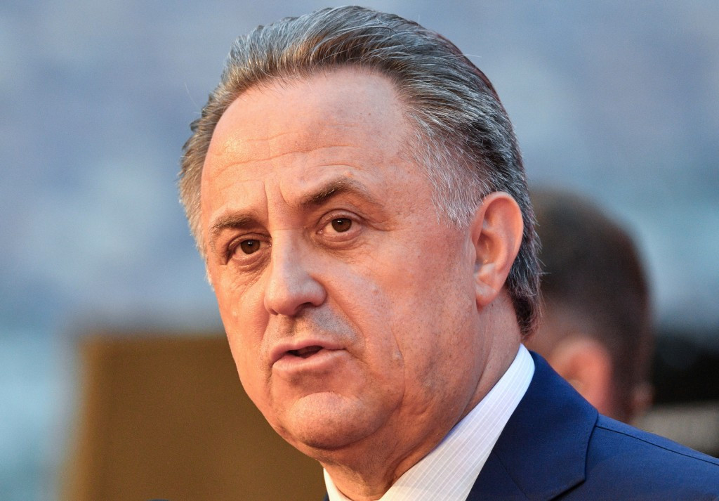 Vitaly Mutko has led Russian opposition to the name change ©Getty Images