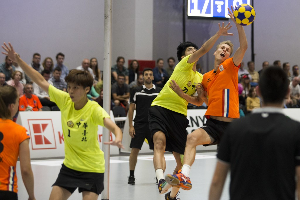Korfball was one of the events attended by IOC sports director Kit McConnell ©IWGA