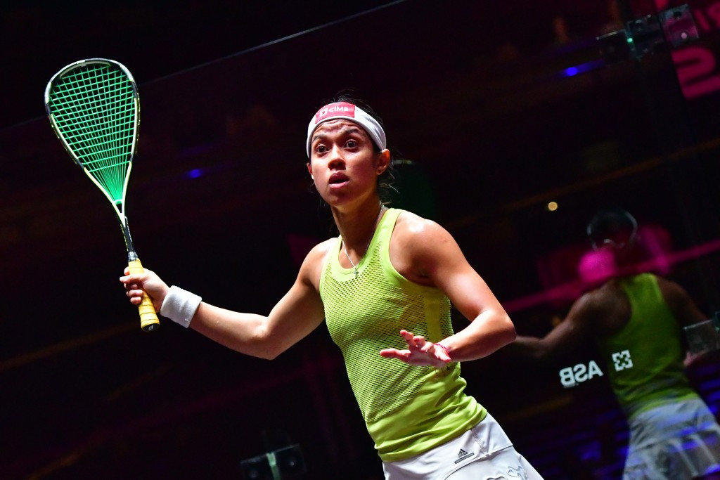 Nicol David is currently in Wroclaw aiming to win a fourth World Games title ©Getty Images