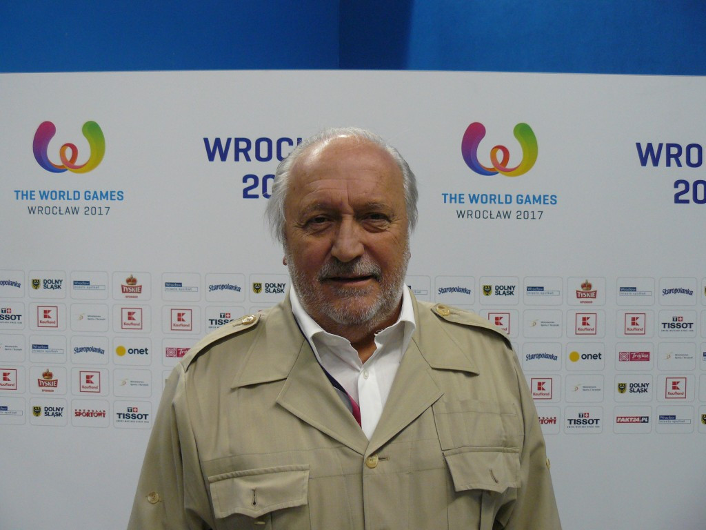Jacques Fontaine is optimistic squash will make it onto the 2024 Olympic programme ©WSF