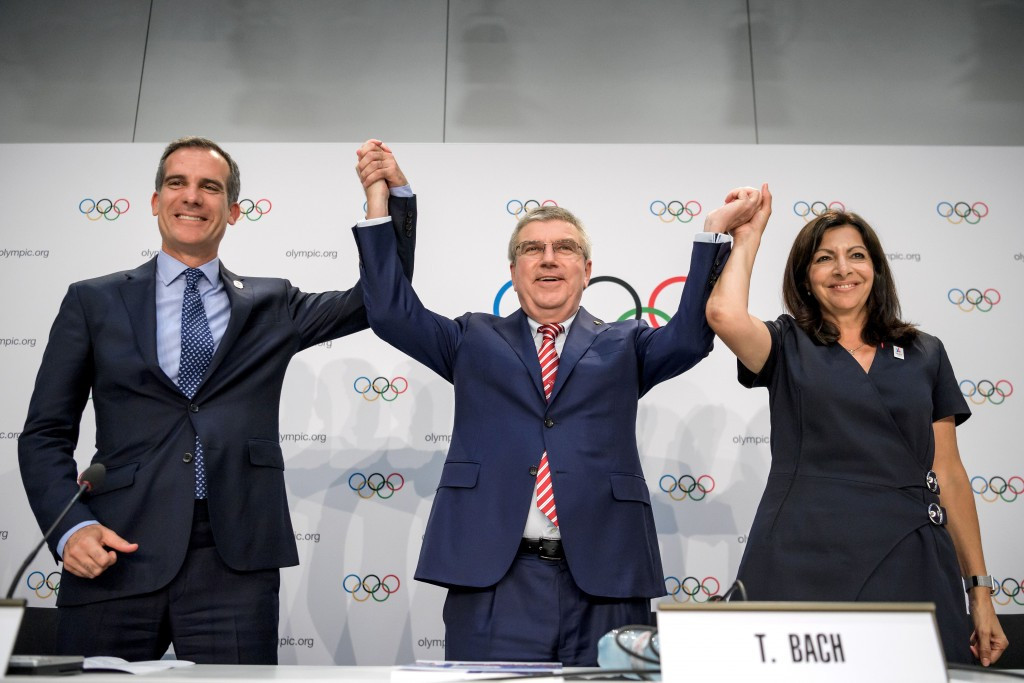 Negotiations between the candidates and the IOC appear to be reaching a conclusion ©Getty Images