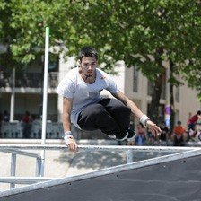 FIG will launch a Parkour World Cup in November ©FIG