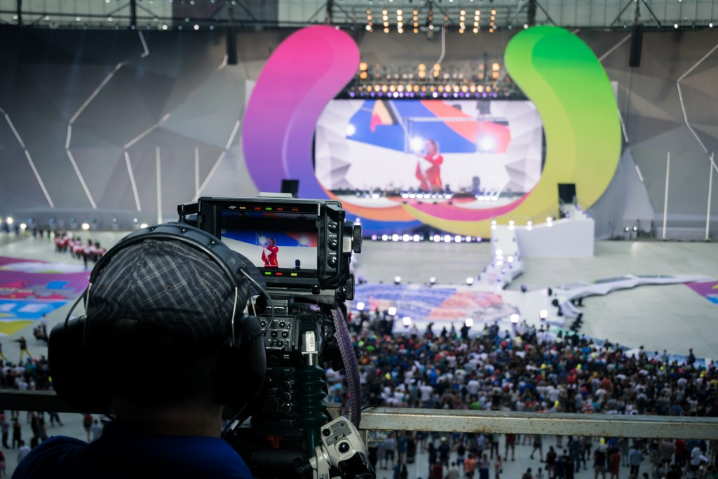 The Olympic Channel's coverage officially began with the Opening Ceremony ©IWGA