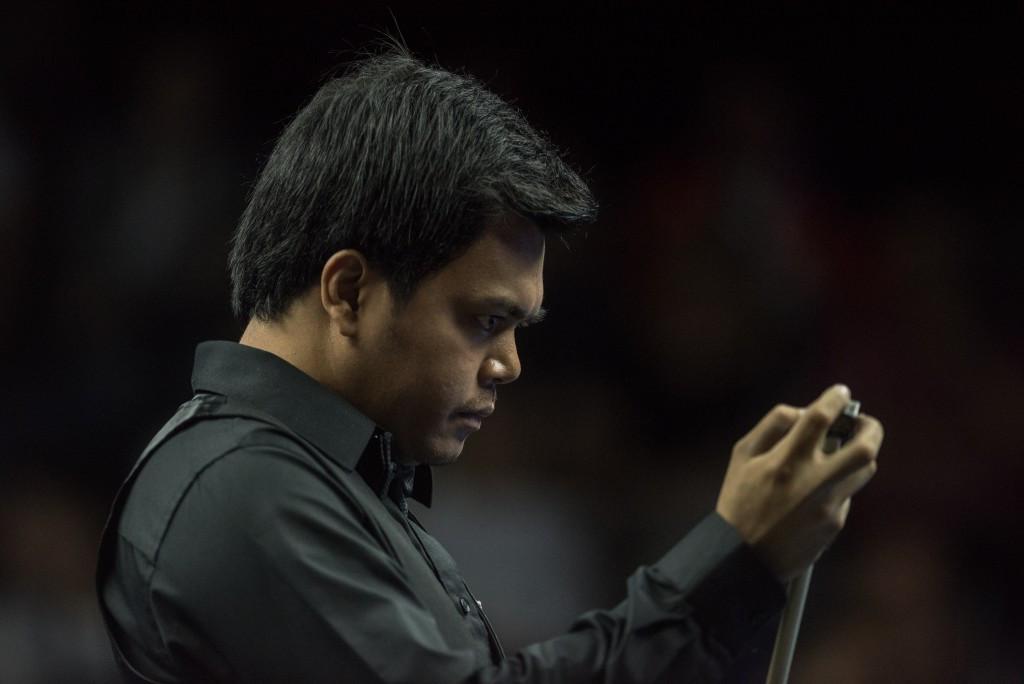 Carlo Biado of the Philippines sealed the men's pool title ©IWGA