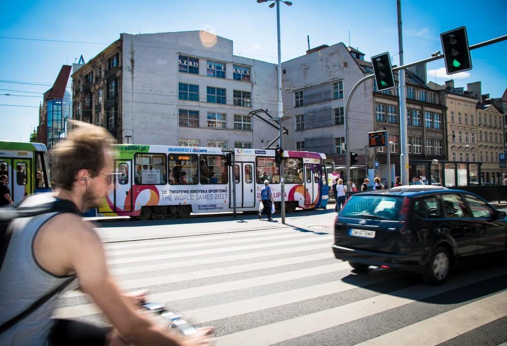 Wrocław is currently hosting this year's World Games ©IWGA