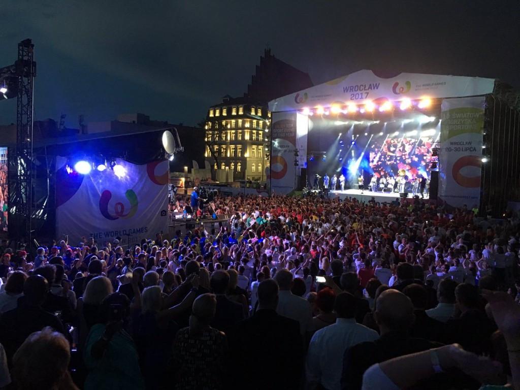 Wrocław 2017 officially declared closed by IWGA President Perurena