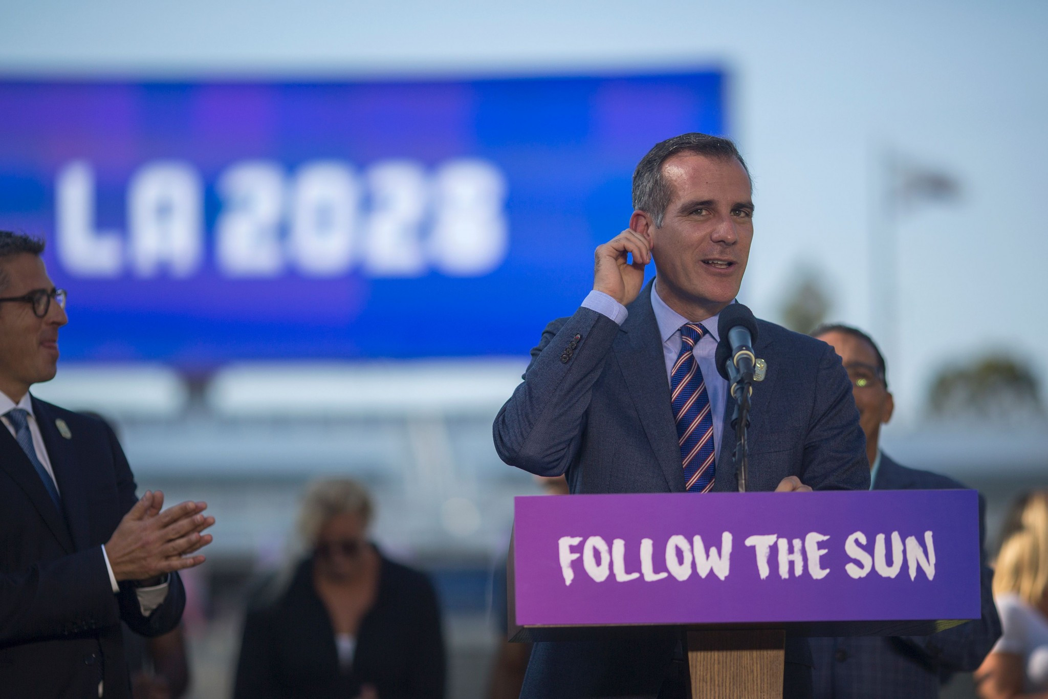 A public opinion survey has found that 83 per cent of Los Angeles' citizens support the city's hosting of the 2028 Olympic and Paralympic Games ©Getty Images