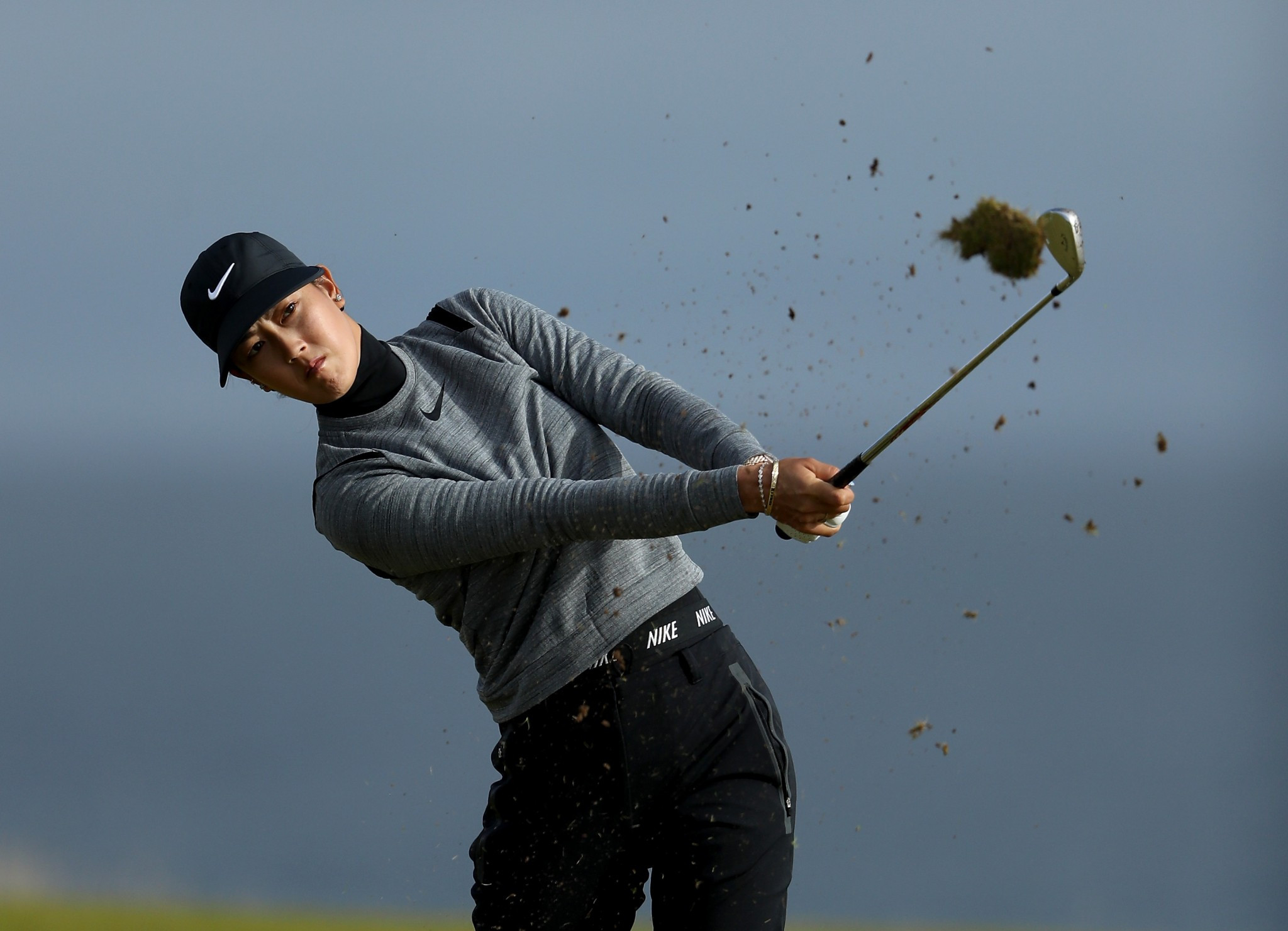Michelle Wie set a course record on her way to the summit of the leaderboard after the first round ©Getty Images