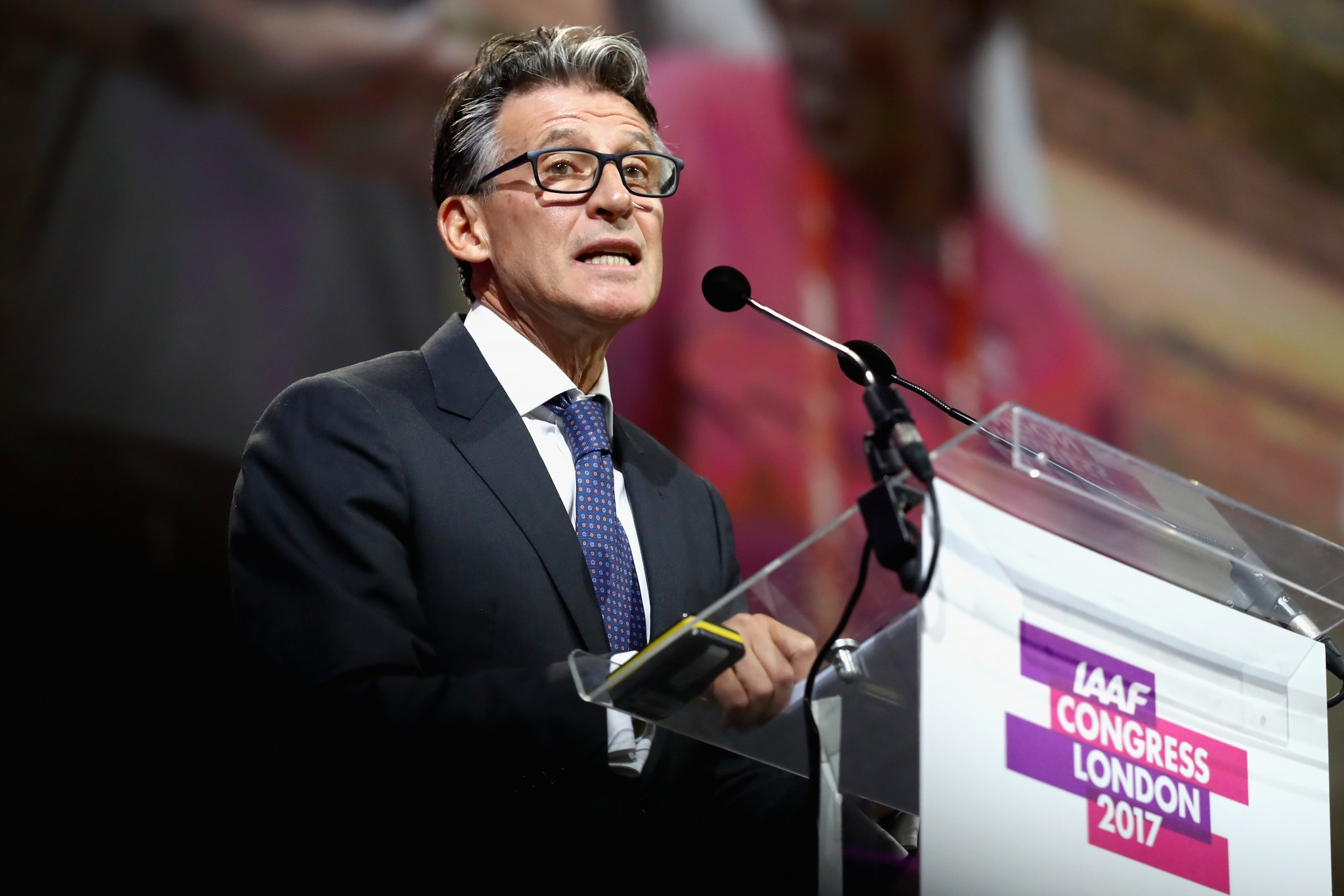 IAAF President Sebastian Coe has led the strong action being taken against Russia following allegations of state-sponsored doping but Jamaica think they have done enough to have their ban lifted ©Getty Images