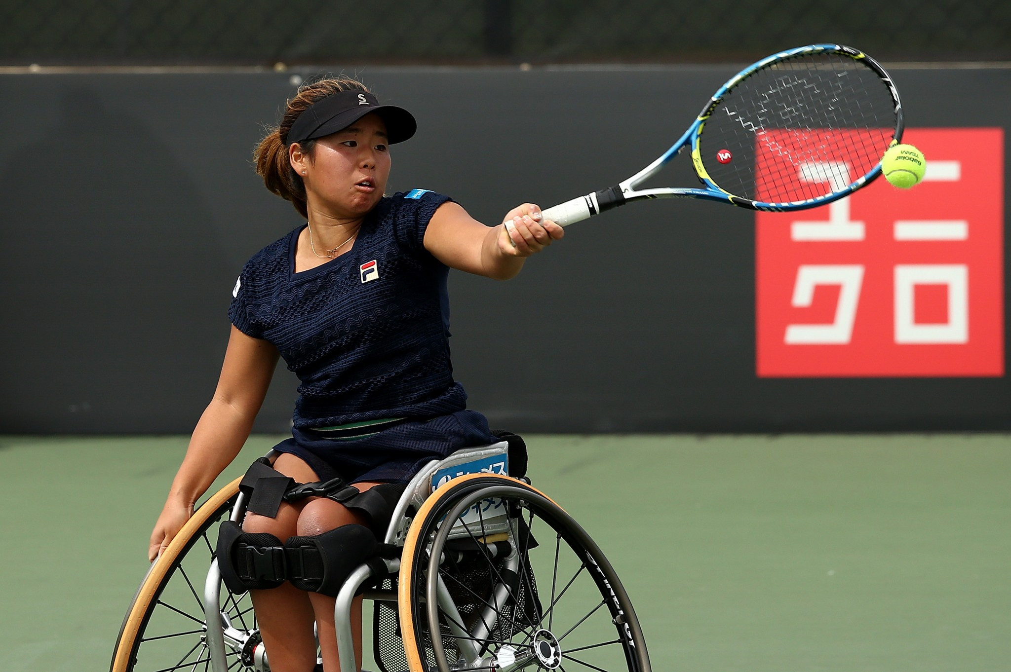 Japan and The Netherlands win women's matches at Wheelchair Tennis World Team Cup