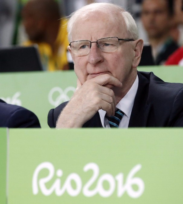 IOC member Patrick Hickey is set to be cleared of doing illegal or financial impropriety in a report to be published in Ireland next week ©Getty Images
