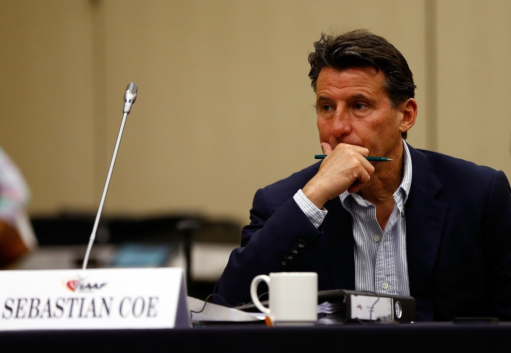 Sebastian Coe is increasingly receiving support in his bid to become the new IAAF President ©