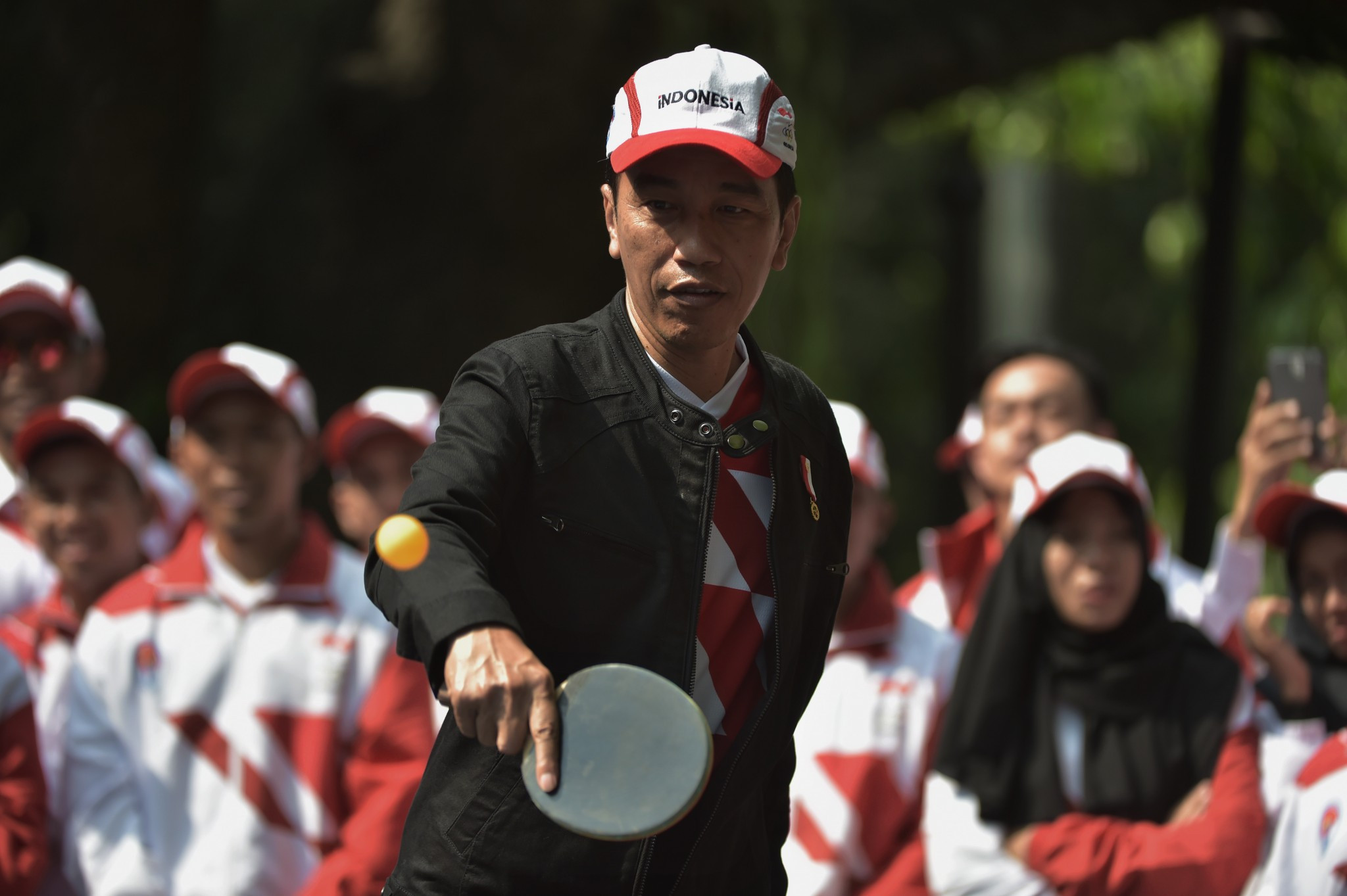 Indonesian President Joko Widodo will launch the countdown event ©Getty Images