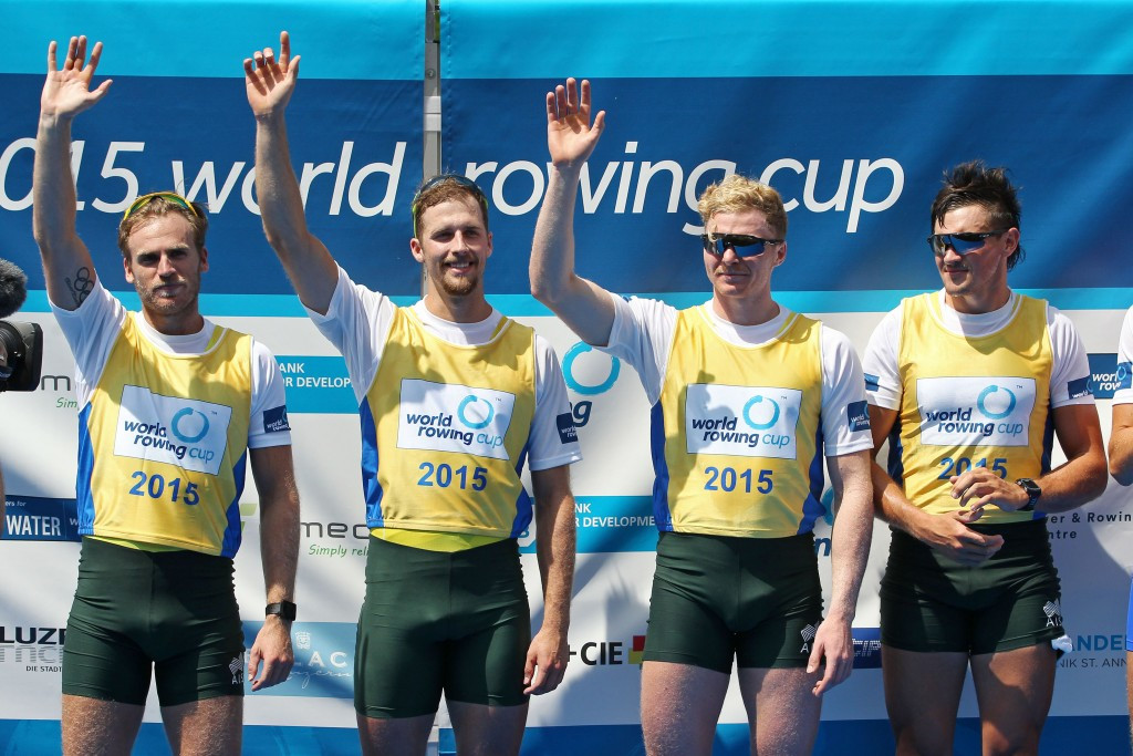 Bike crash leaves three of Australia's top crew injured ahead of World Rowing Championships