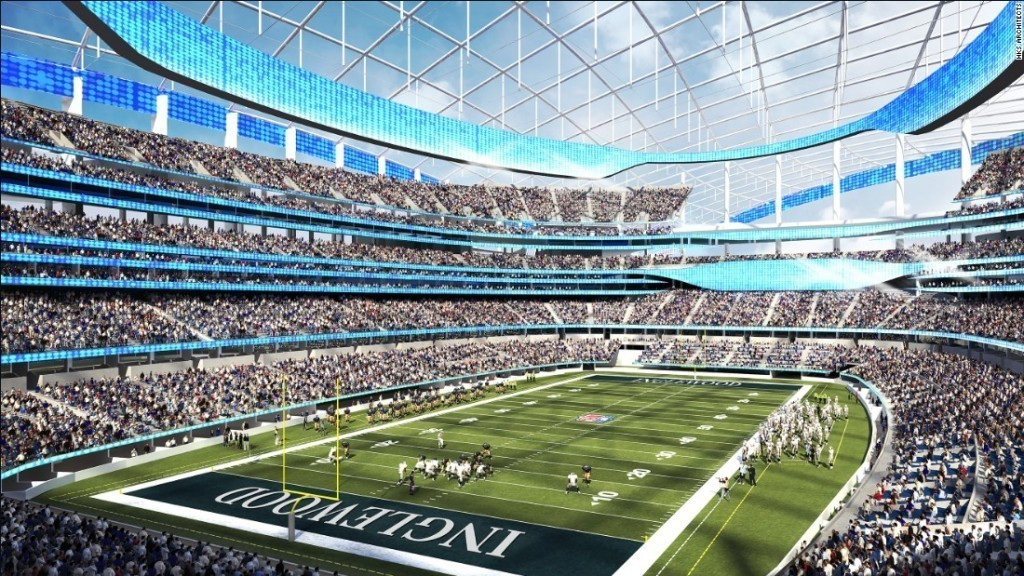 The new multi-billion dollar Los Angeles Stadium has been proposed as one of the Opening and Closing Ceremony venues for the 2028 Olympic and Paralympic Games ©HKS