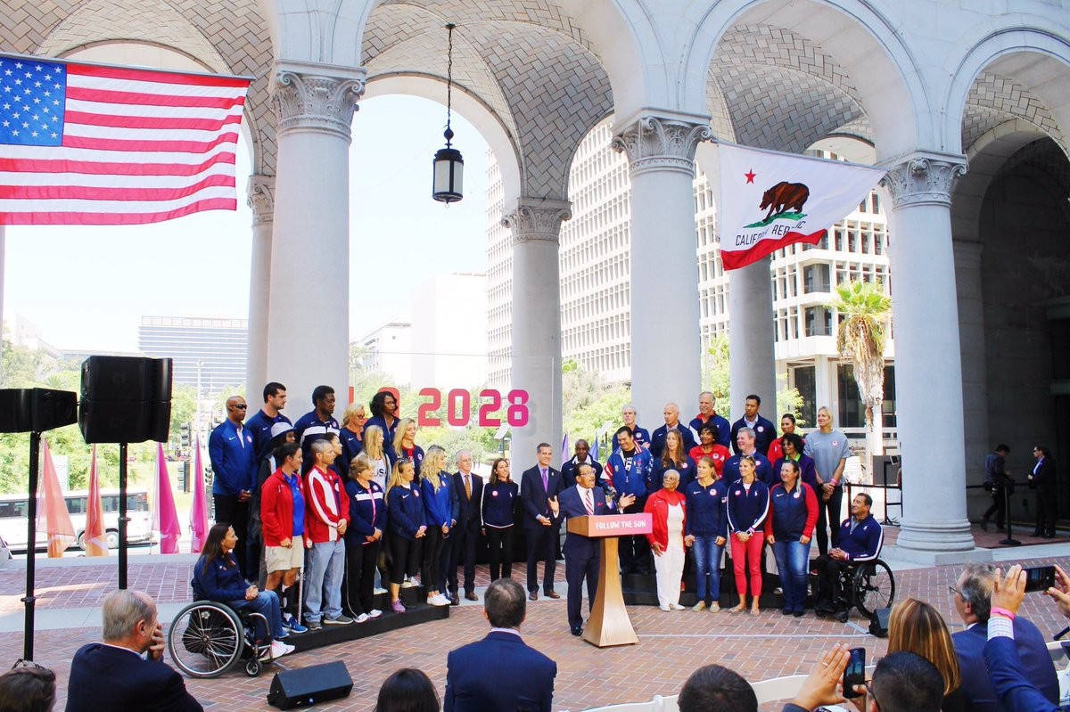 Los Angeles City Council authorise signing of Host City Contract for 2028 Olympic and Paralympic Games