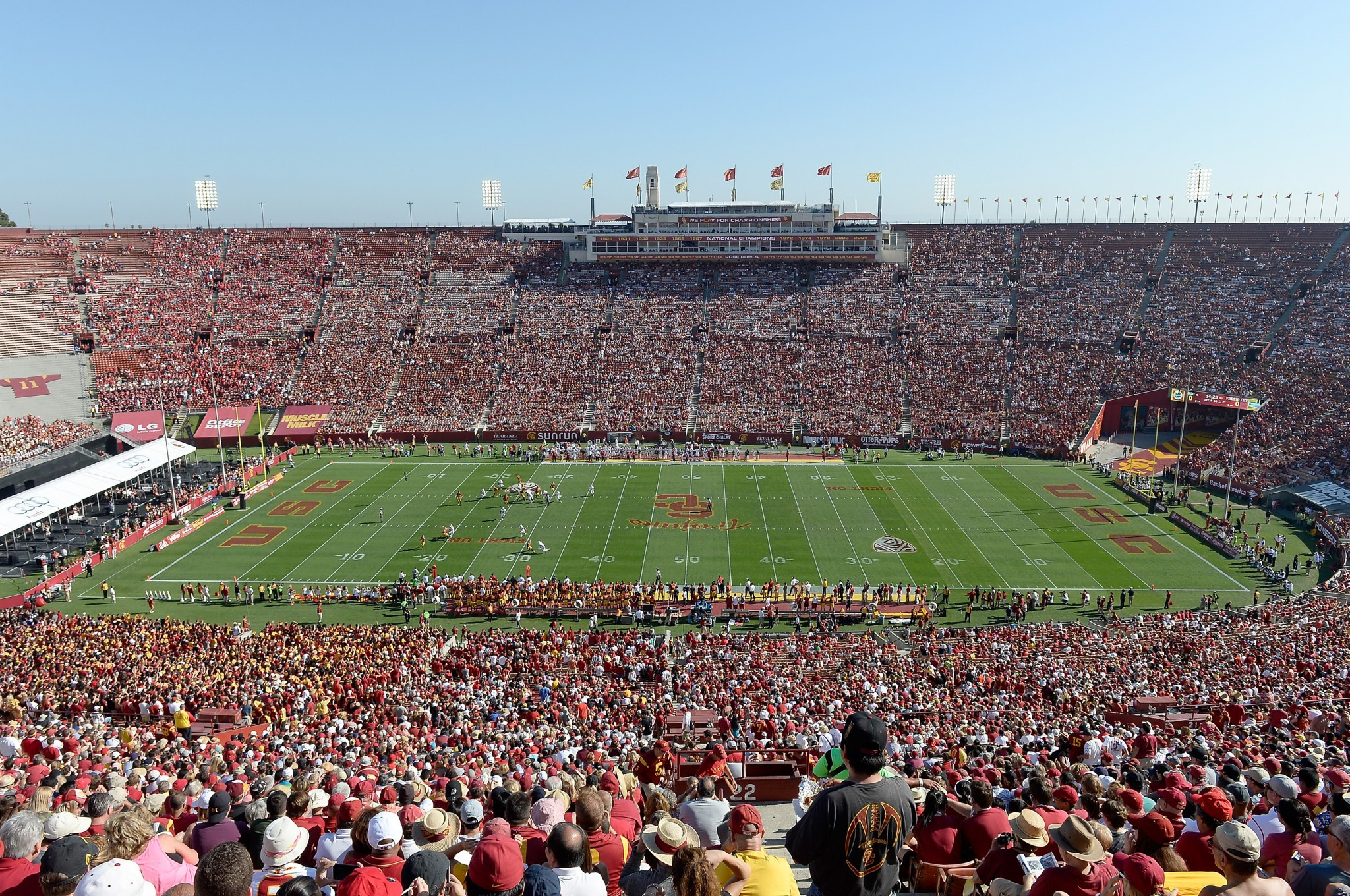 The Los Angeles Memorial Coliseum is on the list of proposed venues ©Getty Images
