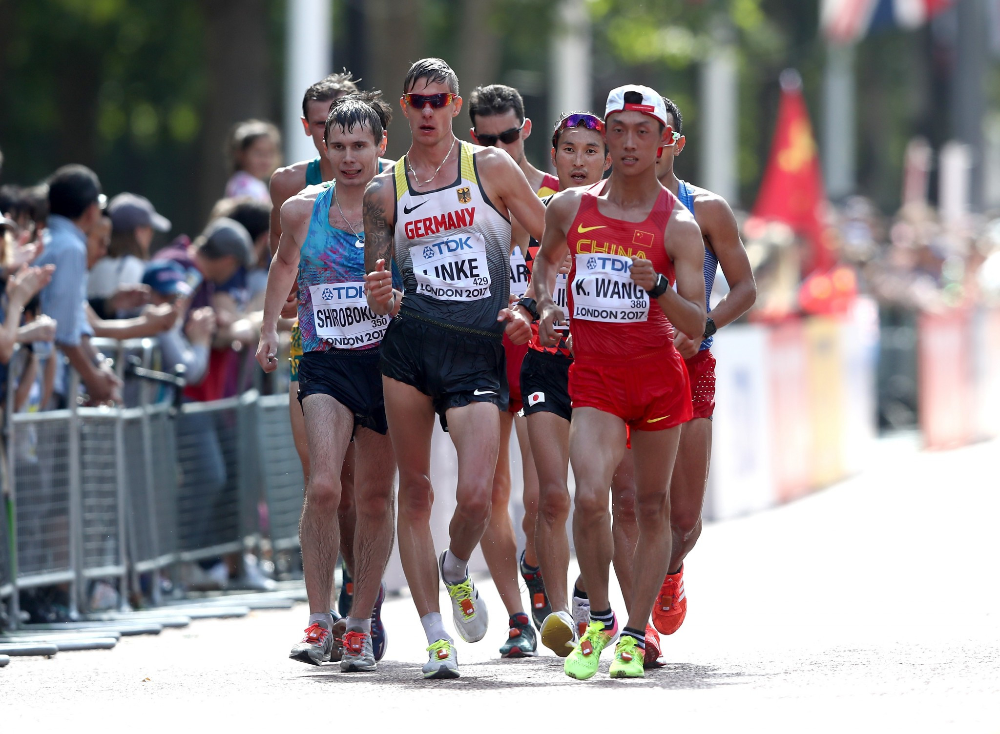 The race walking events at London 2017 all took place on the same day ©Getty Images