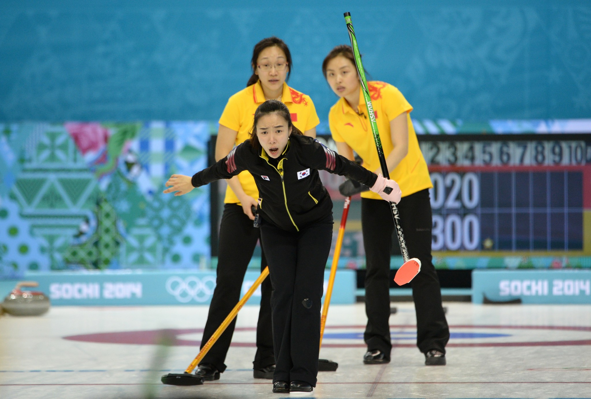 South Korean curlers include rowing in training regime