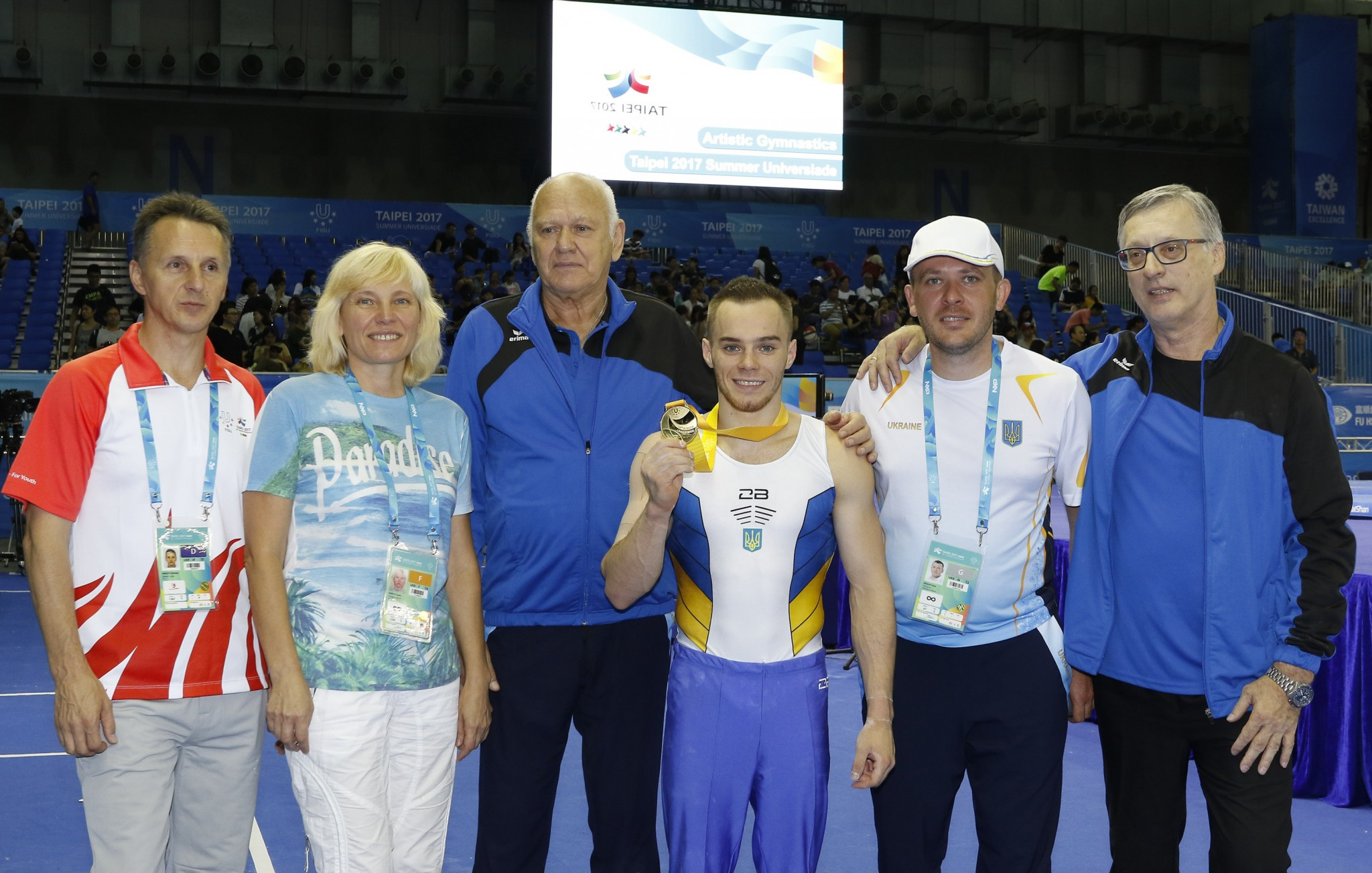 Olympic silver medallist Verniaiev defends individual all-round title at Taipei 2017