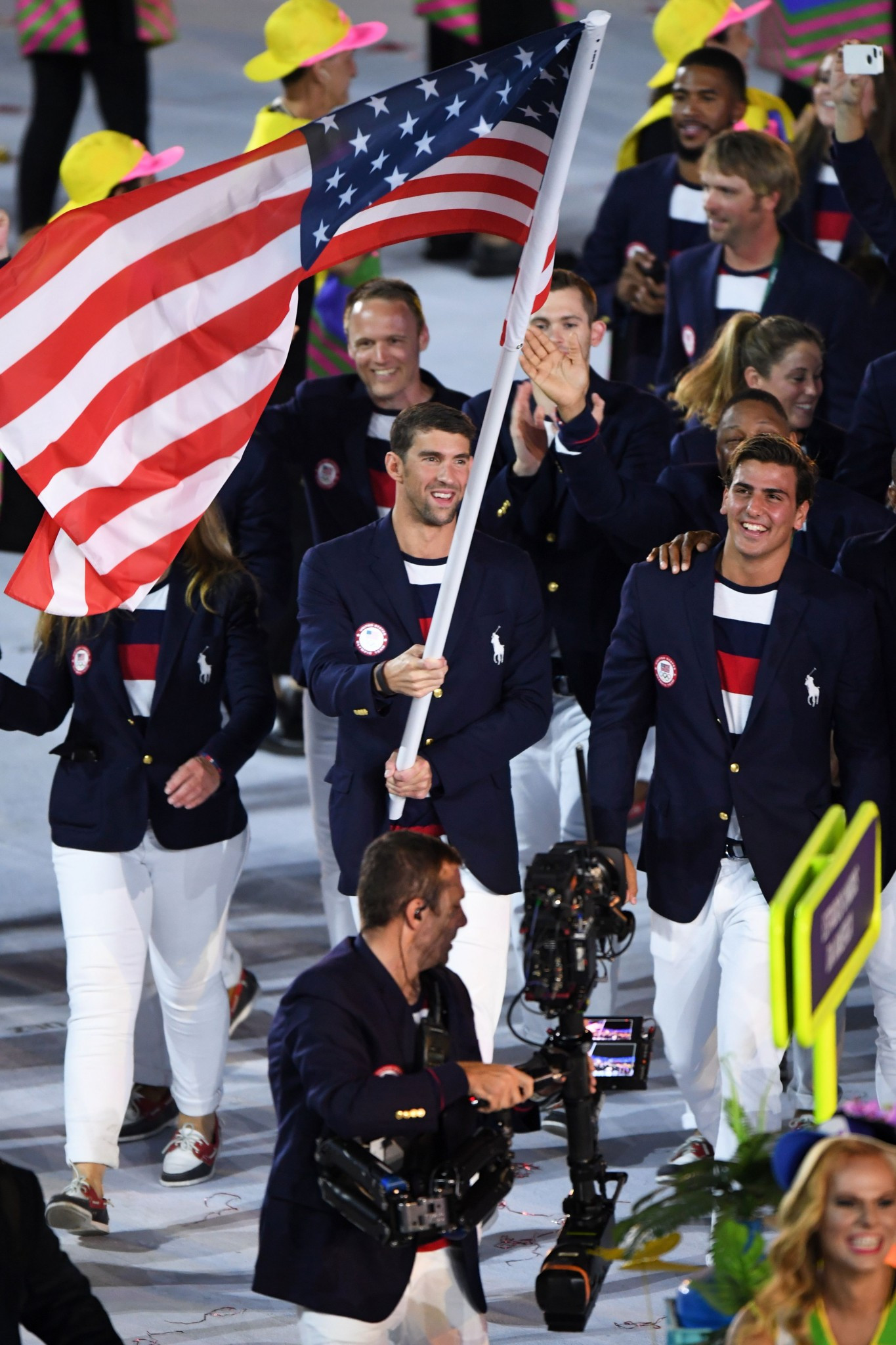 More than seven per cent of revenue went to the United States Olympic Committee ©Getty Images