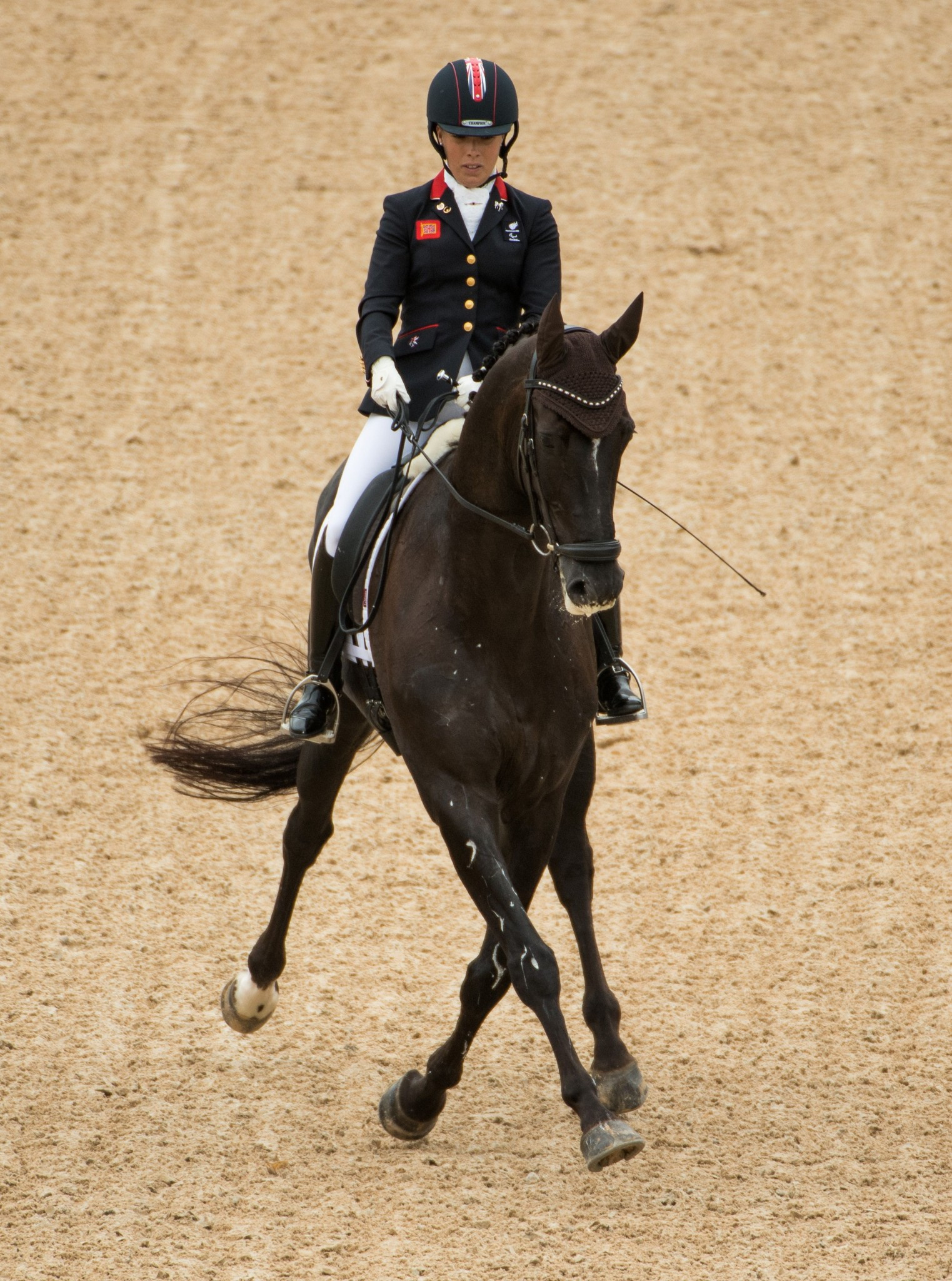 Sophie Wells won gold as more Para-dressage titles were decided ©Getty Images