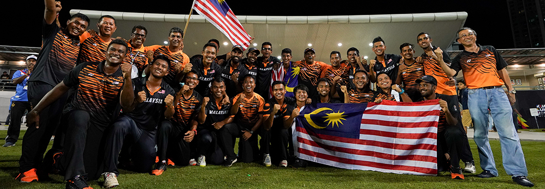 Malaysia claimed gold in cricket today at the regional event ©Kuala Lumpur 2017