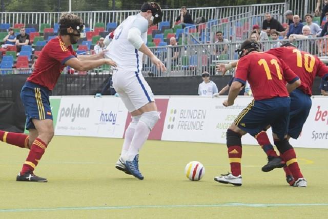 Spain knocked out England via penalties ©Paralympics GB