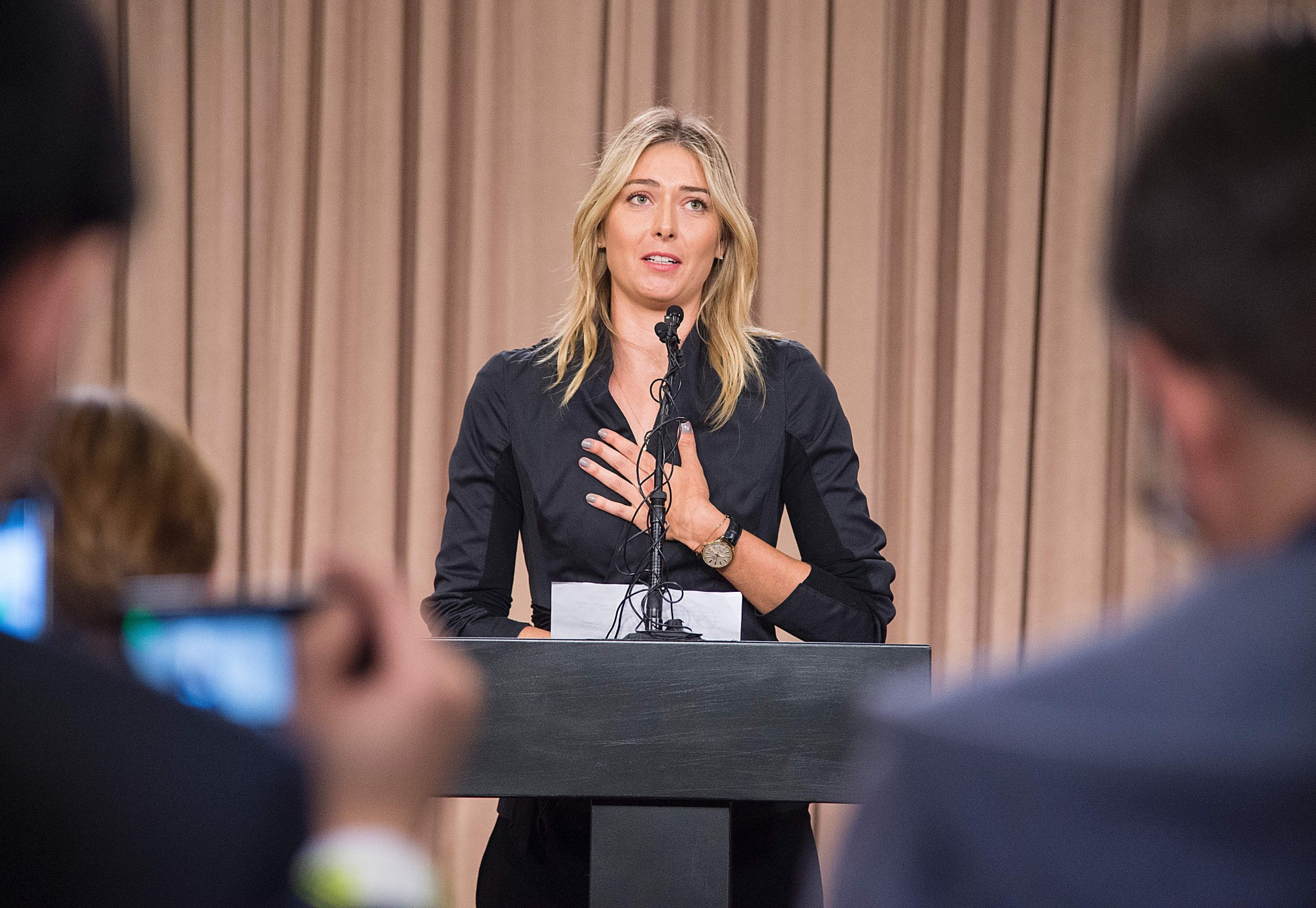Russian tennis star Maria Sharapova was the most high profile athlete to fail for meldonium ©Getty Images