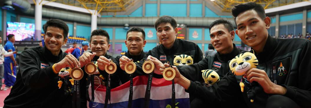 Thailand took an expected gold medal in sepak takraw ©Kuala Lumpur 2017