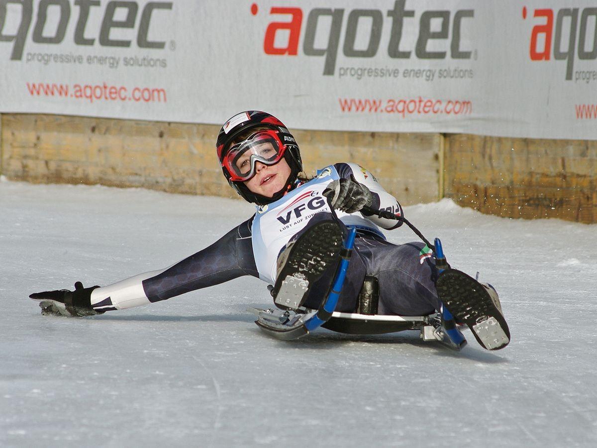 Andreas Castiglioni has been given a key natural track luge role ©Wikipedia