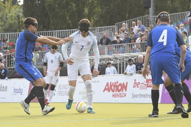 England beat France 2-0 to win the bronze medal ©Paralympics GB