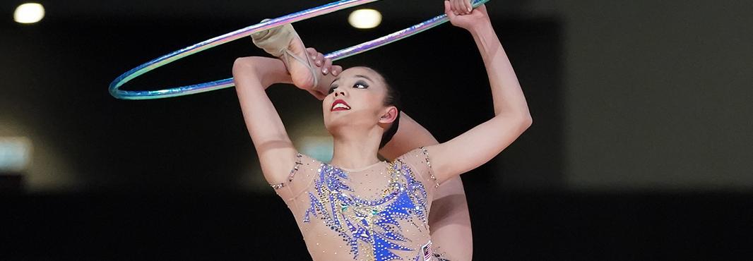 Koi Sie Yan won individual all-around gold in rhythmic gymnastics ©Kuala Lumpur 2017